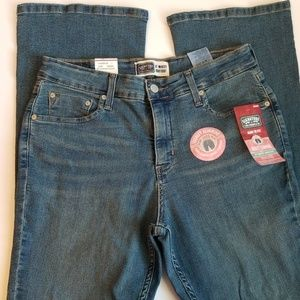 LEVIS AT WAIST BOOTCUT 12M TOTALLY SLIMMING JEANS